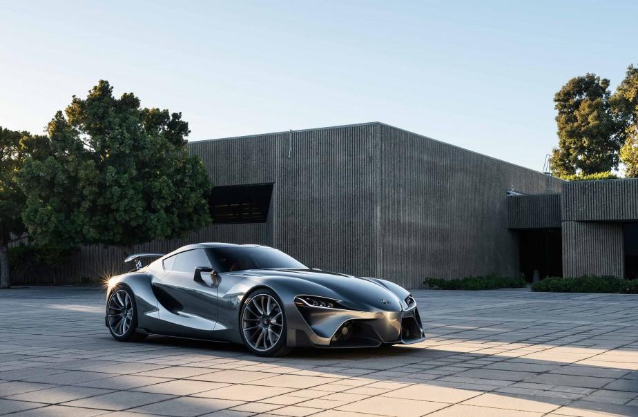 L'tude FT-1 de Toyota, dont s'inspirera la future Toyota Supra. Photo fournie par le constructeur | 18 janvier 2018