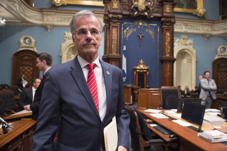 Le député libéral Guy Ouellette a été arrêté... (Photo Jacques Boissinot, archives PC)