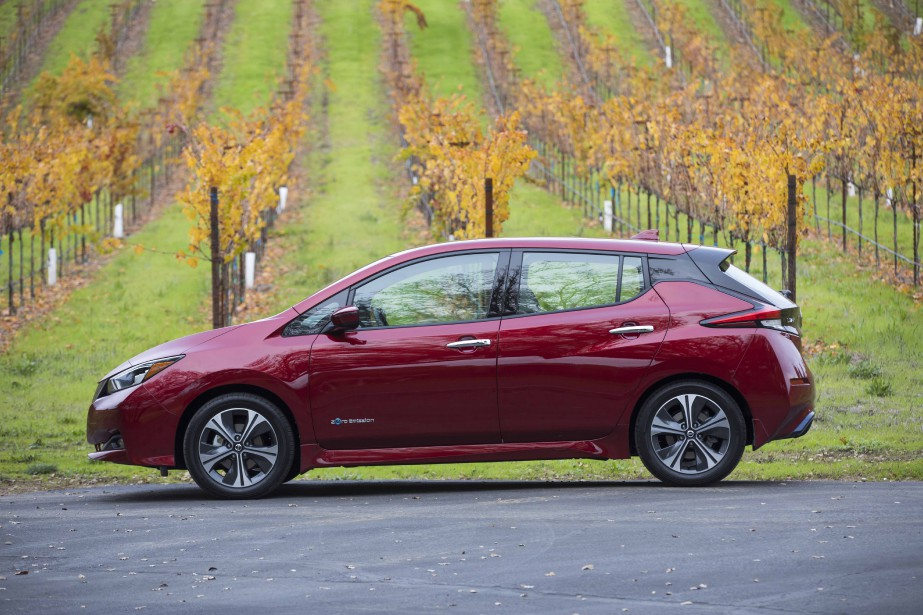 La Nissan Leaf (Photo : Nissan)