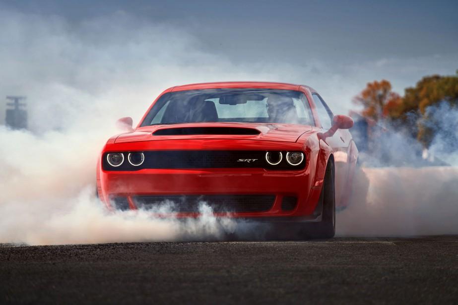 Dodge Challenger SRT Demon... (PHOTO FOURNIE PAR LE CONSTRUCTEUR)