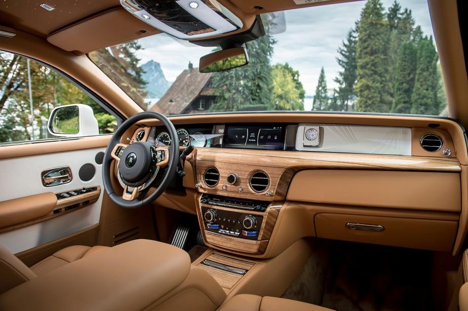 La Rolls-Royce Phantom 2018 : 2500 kg d'opulence ostentatoire. | 19 janvier 2018