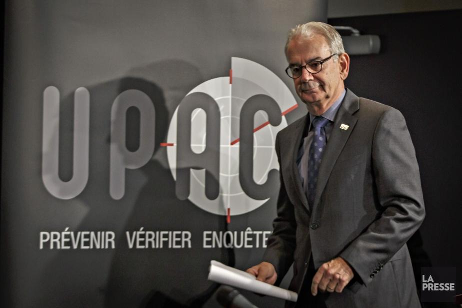 Le commissaire de l'Unité permanente anticorruption (UPAC), Robert... (PHOTO OLIVIER JEAN, LA PRESSE)
