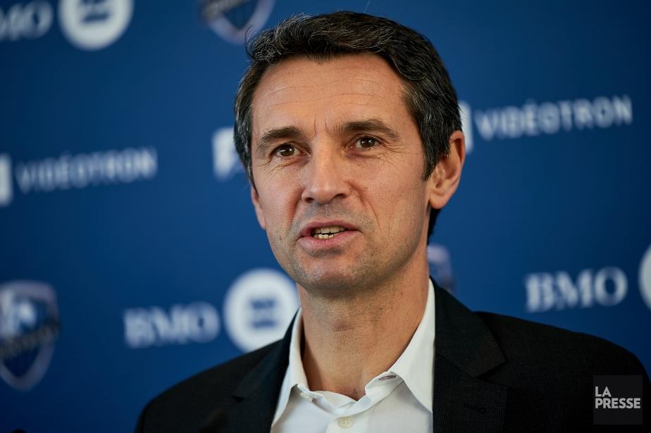 L'entraîneur-chef de l'Impact, Rémi Garde.... (Photo André Pichette, La Presse)