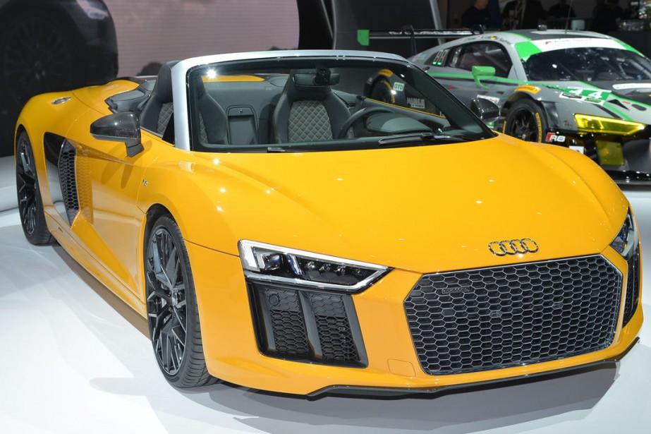 L'Audi R8 V10 Spyder Plus...