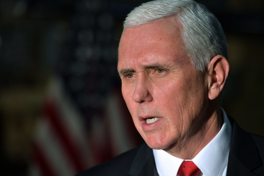 Le vice-président américain Mike Pence... (PHOTO ARCHIVES AP)