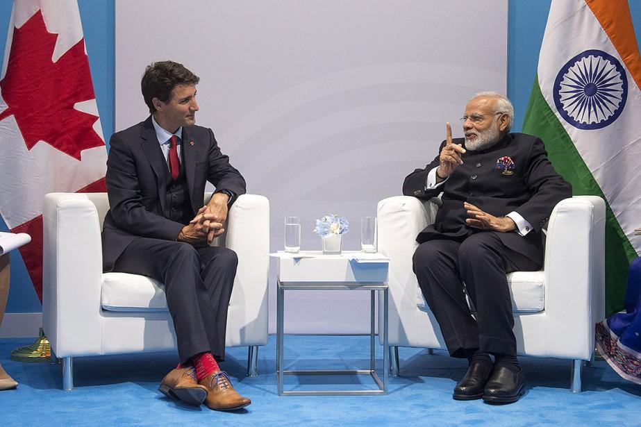 Le premier ministre du Canada, Justin Trudeau, et... (Ryan Remiorz, archives PC)