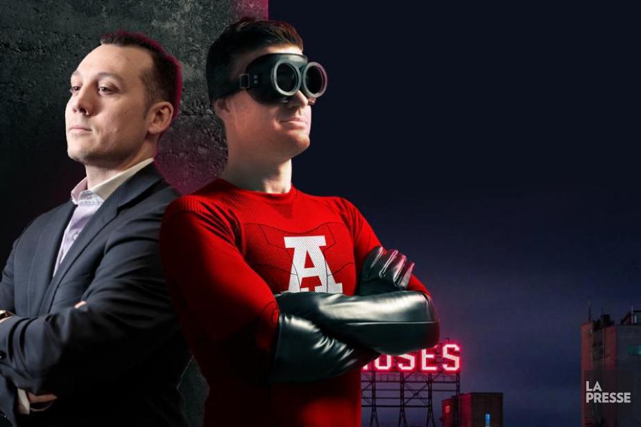 Dans notre série Superhéros en péril financier, le... (Photos Hugo-Sébastien Aubert; graphisme Philippe Tardif, La Presse)