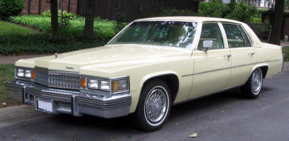 La voiture qui a marqué son enfance : la Cadillac 1978 couleur champagne | 22 janvier 2018