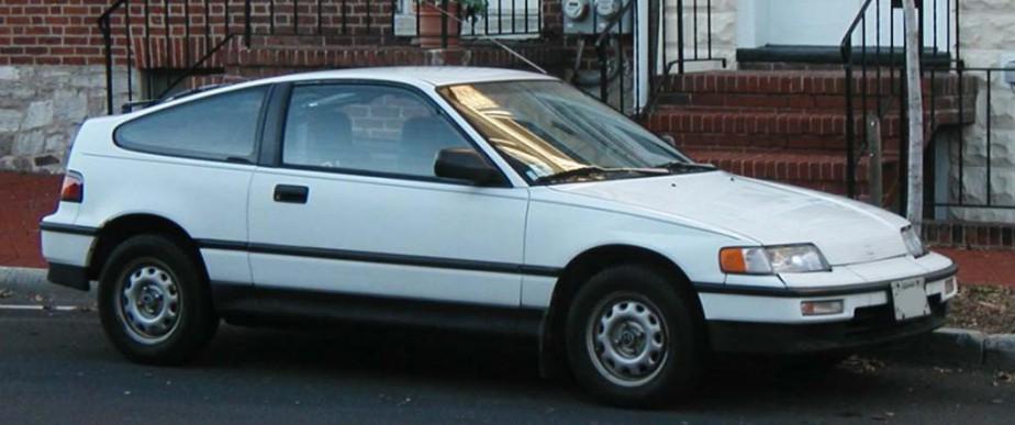 Sa première voiture : Honda CRX blanche | 22 janvier 2018