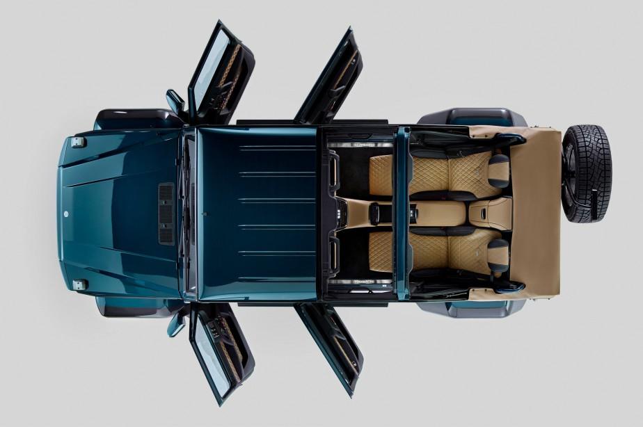 La voiture de ses rêves : Mercedes-Maybach G650, ici en version Landaulet | 22 janvier 2018