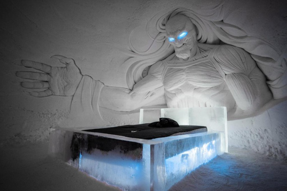 En collaboration avec HBO Nordic, le Snow Village... (photo tirée du site de l'hôtel)