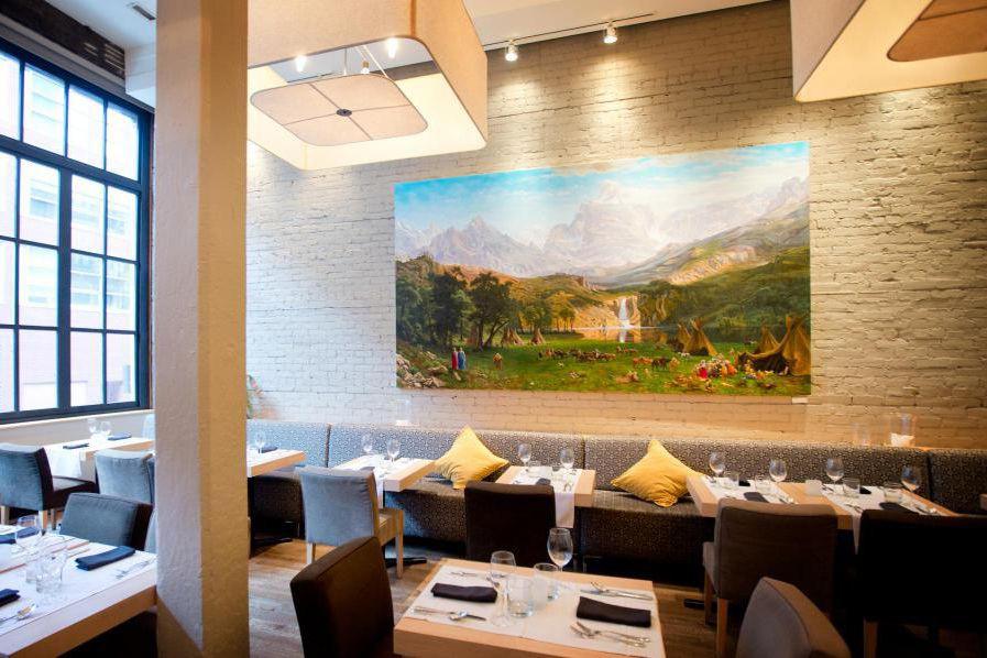 Le Graziellaest le meilleur restaurant italien en ville,... (PHOTO MARCO CAMPANOZZI, LA PRESSE)