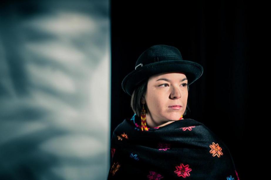 Artiste et militante,Natasha Kanapé Fontaine considère son rôle... (PHOTO EDOUARD PLANTE-FRéCHETTE,LA PRESSE)
