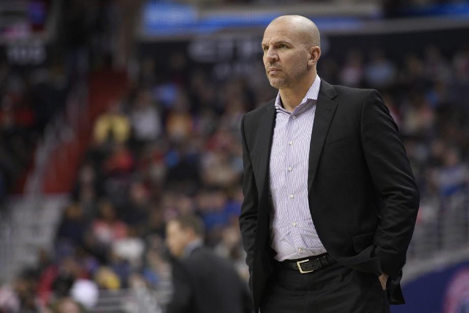 L'entraîneur-chef des Bucks de Milwaukee, Jason Kidd.... (Photo Nick Wass, AP)