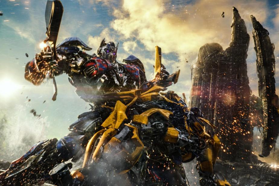 Une scène de Transformers : The Last Knight.... (PARAMOUNT)