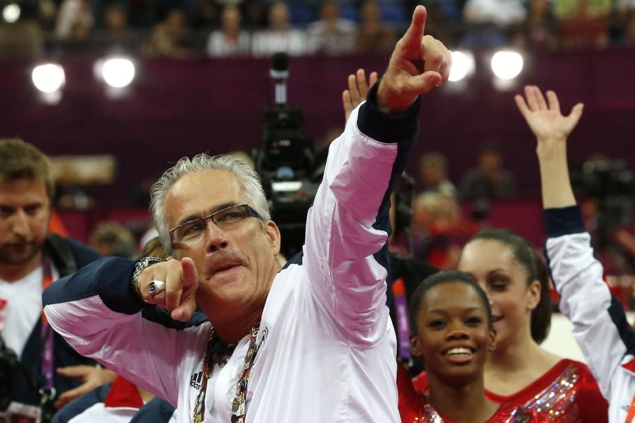 John Geddert lors des Jeux olympiques de Londres,... (ARCHIVES AFP)