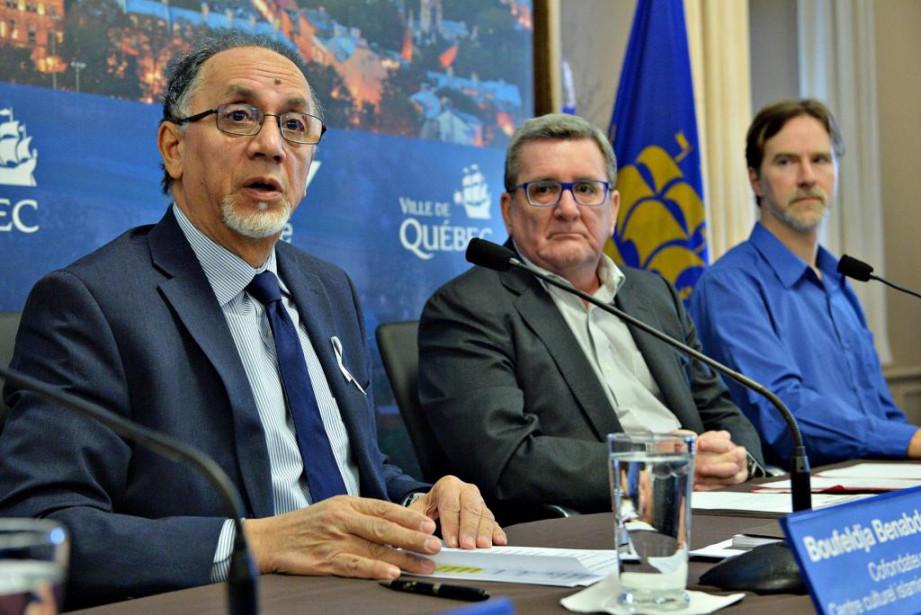 Boufeldja Benabdallah, président du Centre culturel islamique de... (PHOTO PATRICE LAROCHE, LE SOLEIL)