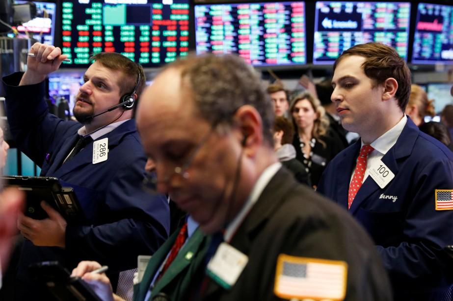 Selon les chiffres définitifs, le Dow Jones a... (REUTERS)