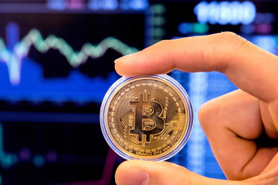 «Avec l'explosion du cours du bitcoin, il y... (AFP)