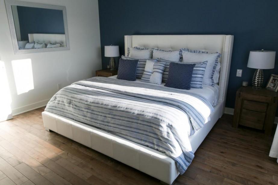 Le lit Catherine, réalisé par Jaymar, figure dorénavant... (Photo François Roy, La Presse)