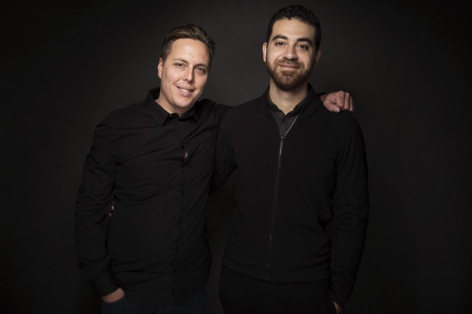 Félix Lajeunesse et Paul Raphaël... (Photo La Presse Canadienne)