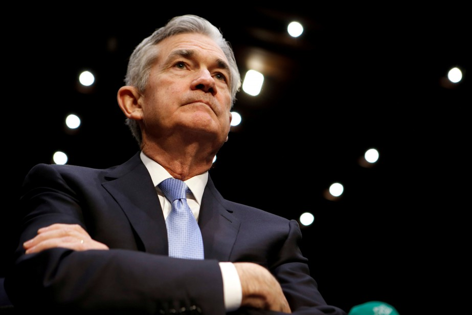 Jerome Powell... (PHOTO REUTERS)