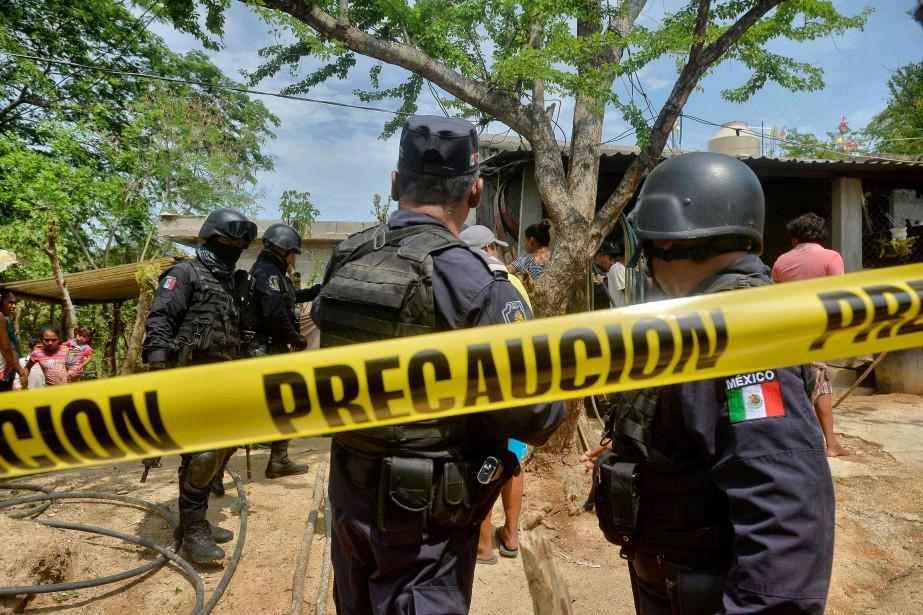 Sur les 32 États que compte le Mexique,... (ARCHIVES AFP)