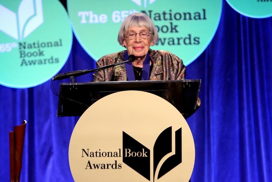 Ursula K. Le Guin lors du gala des... (ARCHIVES AFP)