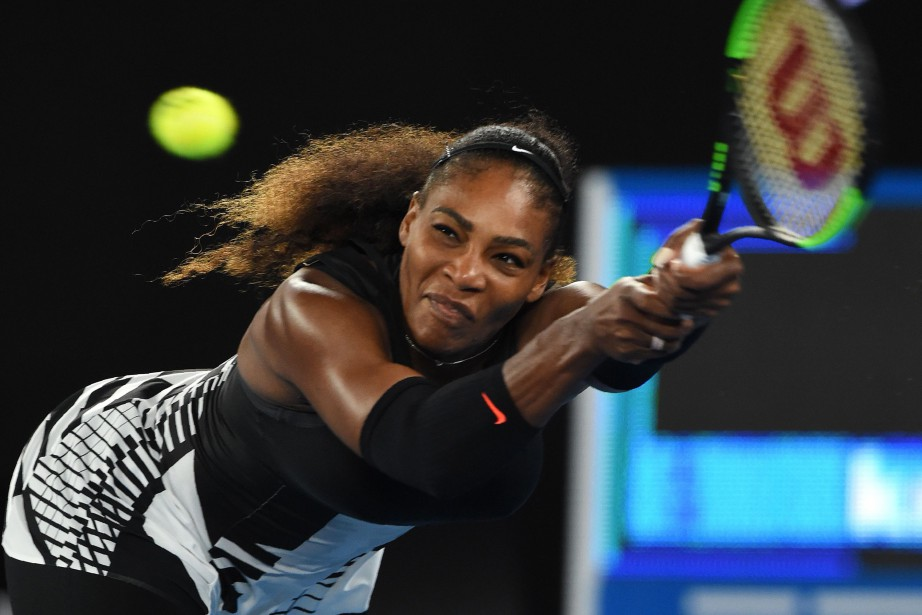 Serena Williams... (PHOTO AFP)