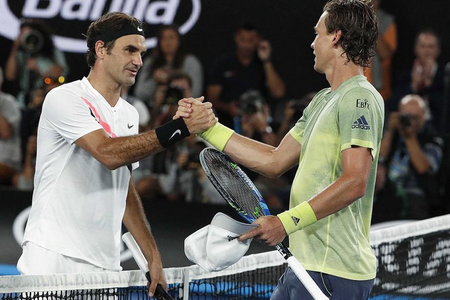 Roger Federer a défait Tomas Berdych en trois... (Photo Edgar Su, Reuters)