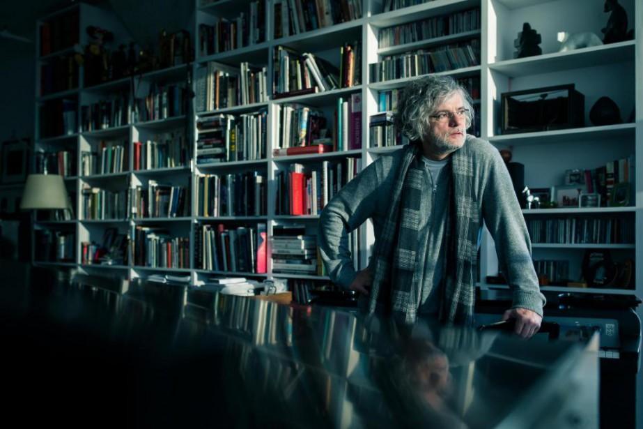 François Girard lance son film Hochelaga, terre des... (Photo Edouard Plante-Fréchette, La Presse)