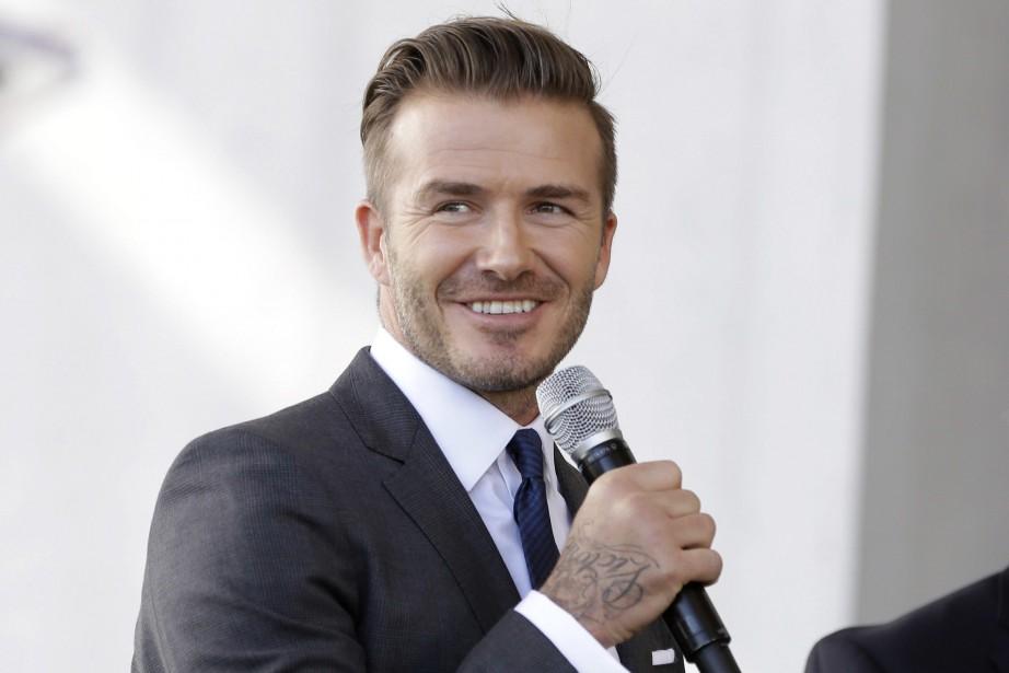 David Beckham... (Photo Lynne Sladky, archives AP)