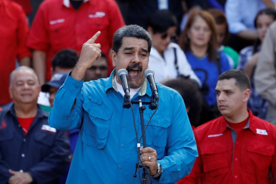 Le président du Venezuela, Nicolas Maduro... (PHOTO Marco Bello ,REUTERS)