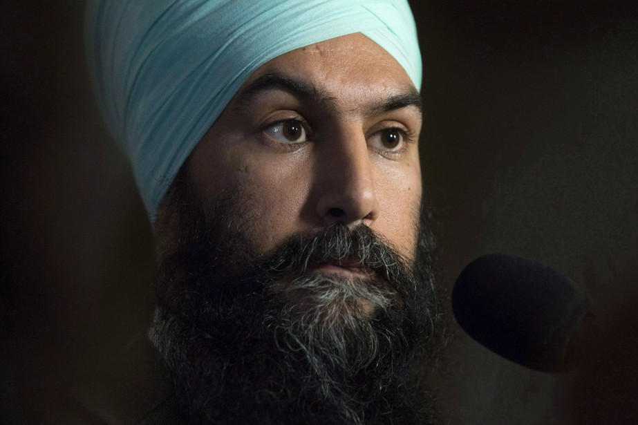 Le chef du Nouveau Parti démocratique (NPD), Jagmeet... (PHOTO ARCHIVES LA PRESSE CANADIENNE)