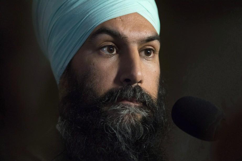 Le chef du Nouveau Parti démocratique (NPD), Jagmeet... (PHOTO ARCHIVES LA PRESSE CANADIENNE)