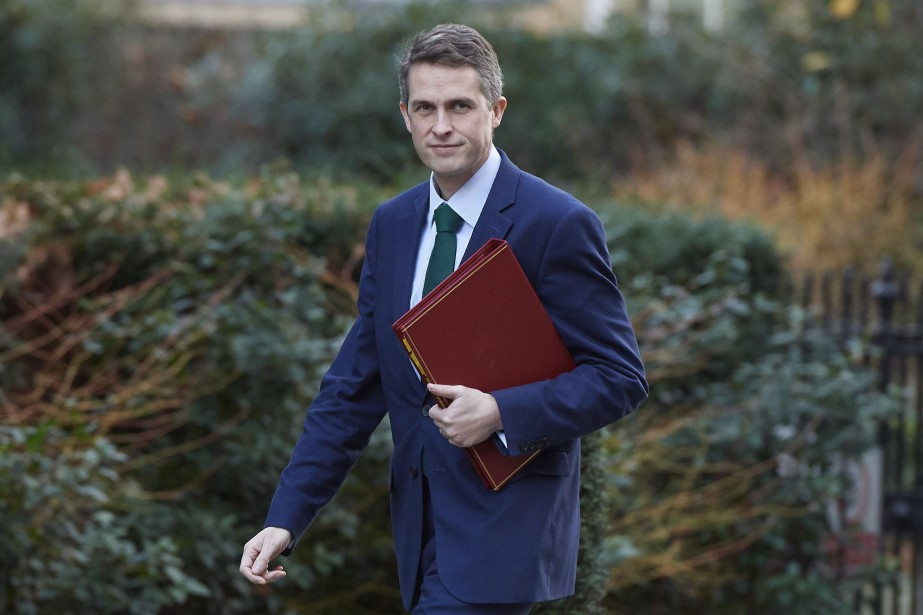 Le ministre de la Défense britannique Gavin Williamson... (PHOTO Niklas HALLE'N, AFP)