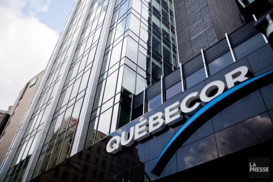 Québecorbénéficie de subventions d'environ 14,3millions par an, dont... (Photo Sarah Mongeau-Birkett, Archives La Presse)