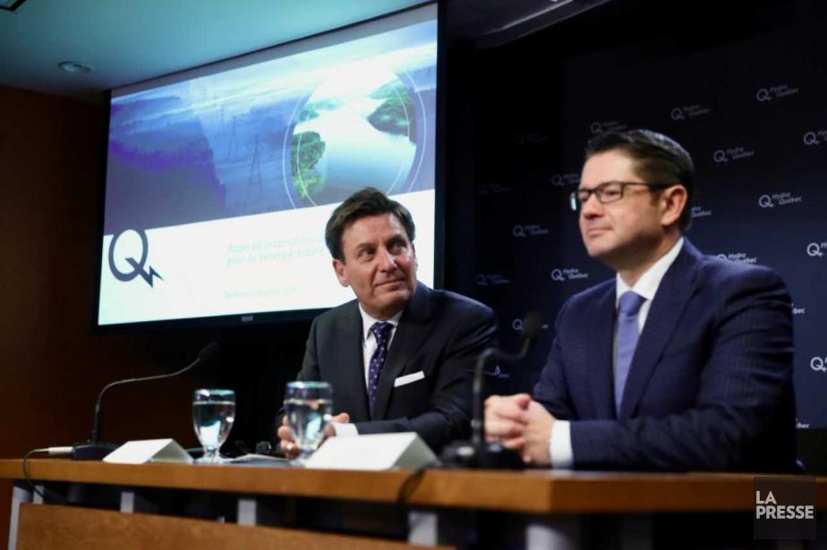 Le ministre des Ressources naturelles, Pierre Moreau, et... (Photo Martin Chamberland, La Presse)
