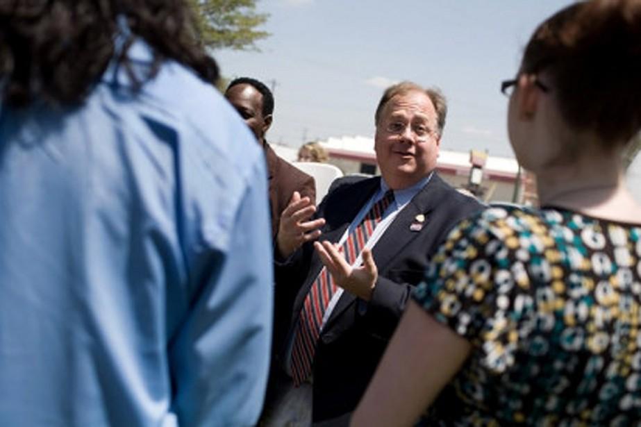 Accusé de harcèlement sexuel, Burns Strider a joui... (PHOTO ARCHIVES THE NEW YORK TIMES)