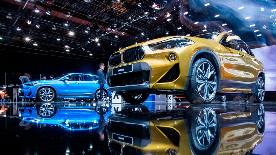 Deux BMW X2 | 26 janvier 2018
