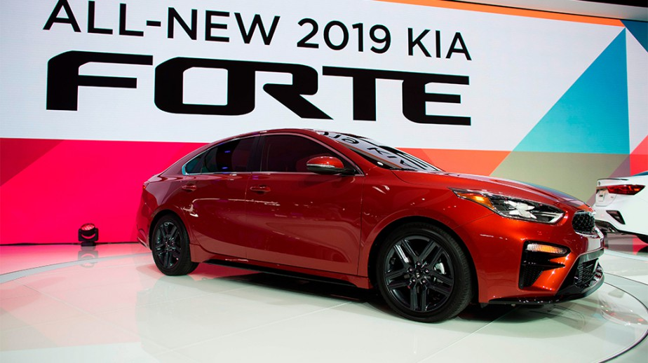 La Kia Forte | 26 janvier 2018