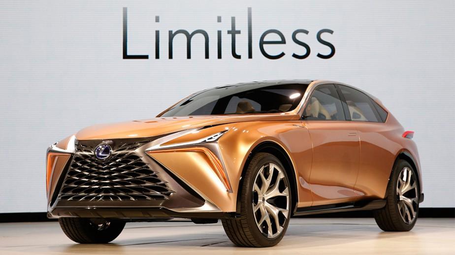 Le prototype Lexus LF-1 Limitless | 26 janvier 2018