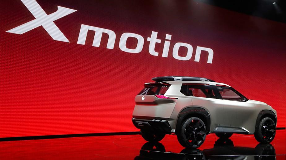 Le prototype Nissan X Motion | 26 janvier 2018
