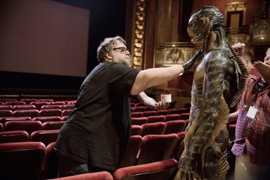 Guillermo del Toro sur le plateau de tournage... (Photo fournie par Fox Searchlight)