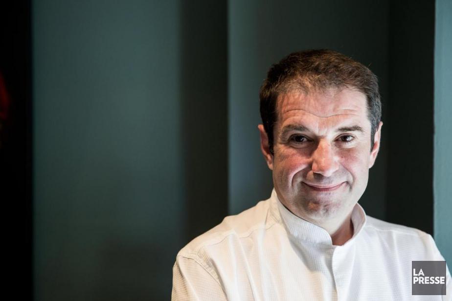 Le chef Jérôme Ferrer... (Photo Marco Campanozzi, archives La Presse)