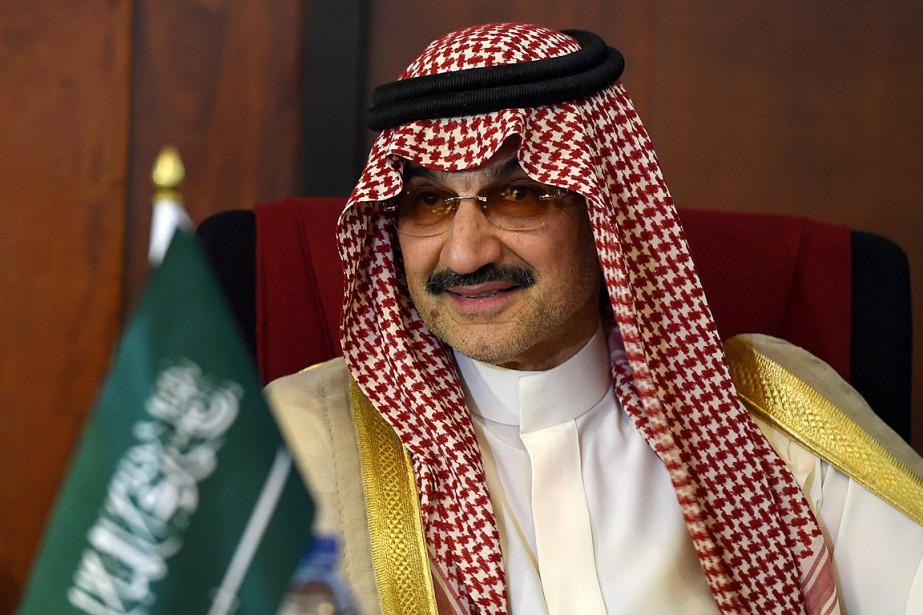 Le princeAl-Walid ben Talal était le plus haut... (PHOTO ISHARA S. KODIKARA, ARCHIVES AGENCE FRANCE-PRESSE)