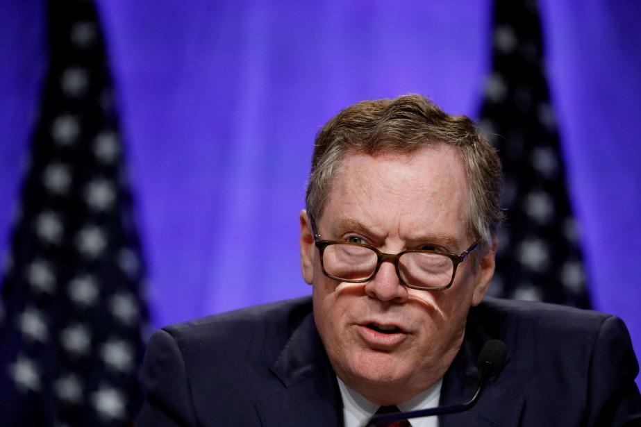 Le représentant commercial des États-Unis Robert Lighthizer... (PHOTO ARCHIVES REUTERS)
