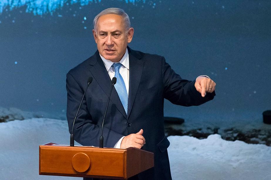L'Iran a «l'intention de nous détruire», a affirmé... (PHOTO ALEXANDER ZEMLIANICHENKO, ASSOCIATED PRESS)