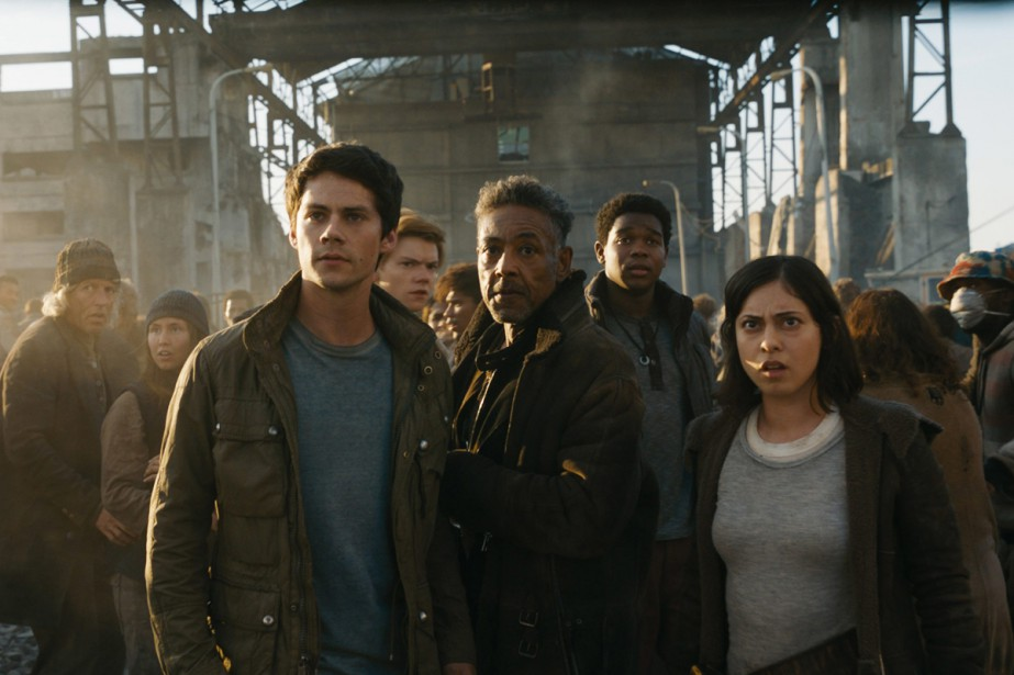 Dylan O'Brien, Giancarlo Esposito et Rosa Salazar dans... (Photo fournie par 20th Century Fox)