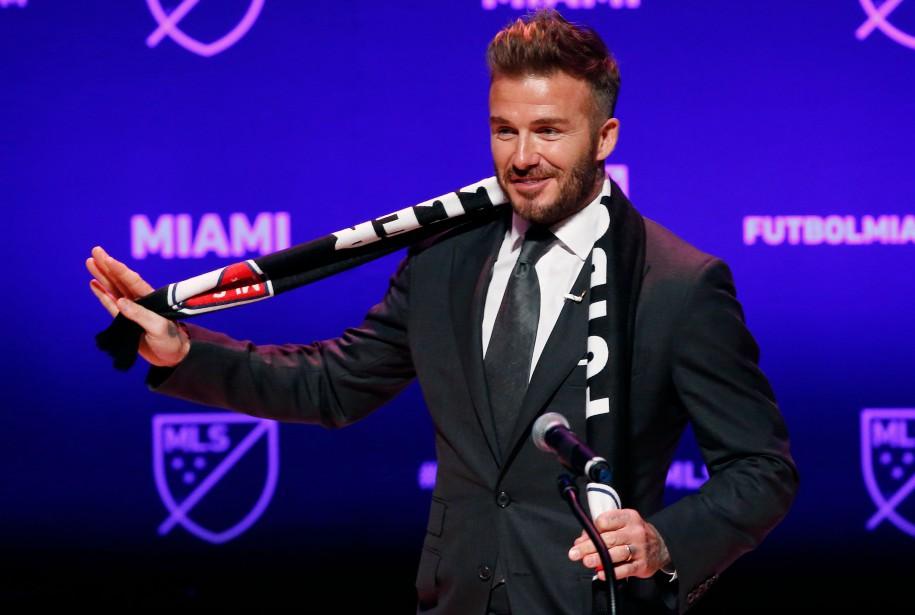 «Mon rêve devient réalité», s'est félicité David Beckham... (PHOTO AFP)